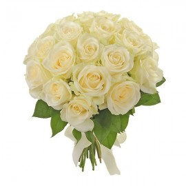 Bouquet of 27 White Roses Sweet prisoner